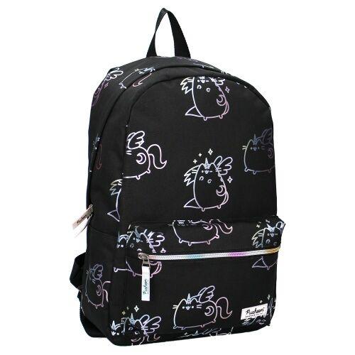 Pusheen rucksack Pusheender Katze 19 Liter Polyester schwarz/weiß