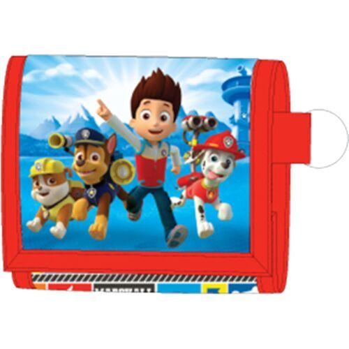 Nickelodeon geldbörse Paw Patrol Jungen 13 cm blau/rot