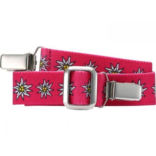 Playshoes gürtel elastisch mit Clip rosa Blumen Junior Größe 2