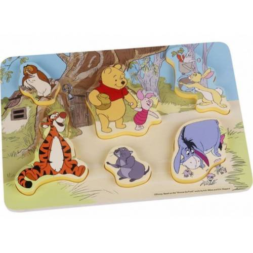 Disney puzzle Winnie the Pooh junior Holz 6 Teile