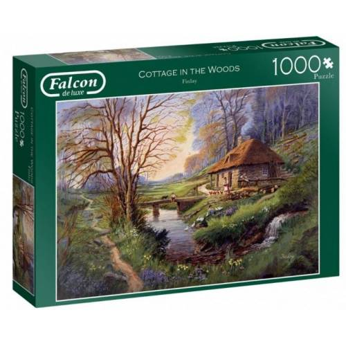 Falcon puzzle Cottage in the Woods 1000 Teile