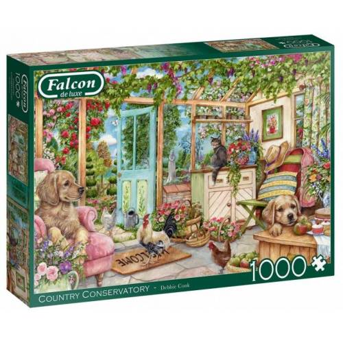 Falcon puzzle Country Conservatory 1000 Teile