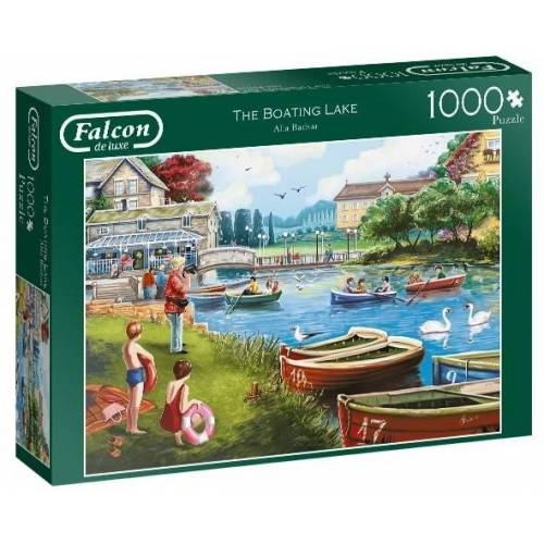 Falcon puzzle The Boating Lake 1000 Teile