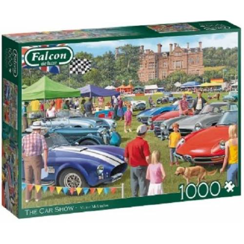 Falcon puzzle The Car Show 1000 Teile