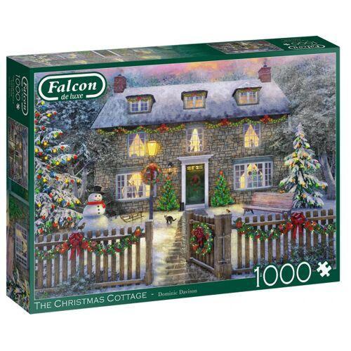 Falcon puzzle The Christmas Cottage 1000 Teile