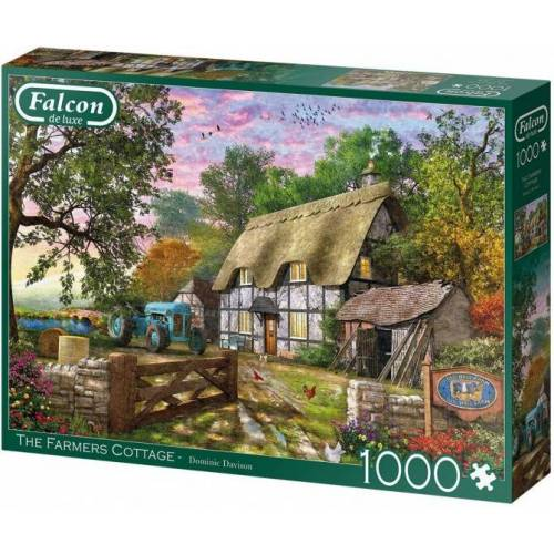 Falcon puzzle The Farmers Cottage 1000 Teile
