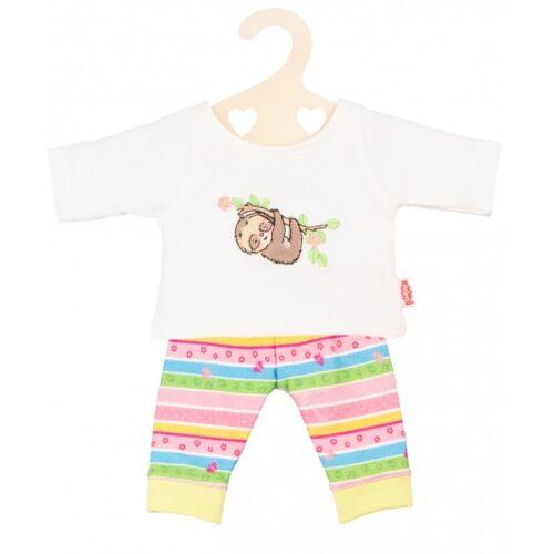 Heless puppenbekleidung Pyjama Sloth 35 45 cm