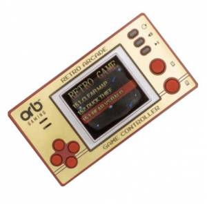 ORB spielesammlung Retro Pocket junior 9 cm gold/rot