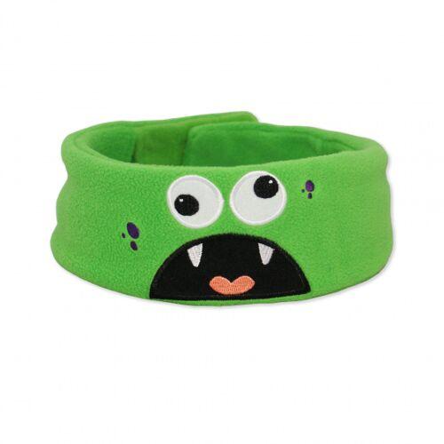 Snuggly Rascals Über Ohr Kopfhörer Monster60 cm Vlies grün