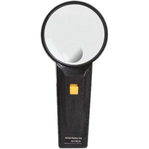 Velleman lupe Vtmg3n LED 8 cm ABS schwarz