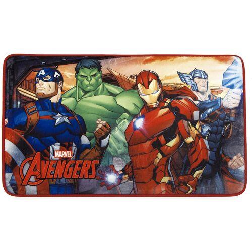 Arditex teppich Avengers 45 x 75 cm Polyester rot