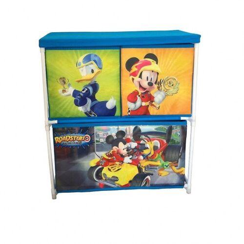 Disney Mickey Maus Aufbewahrungsschrank mit 3 Schubladen 60 cm blau