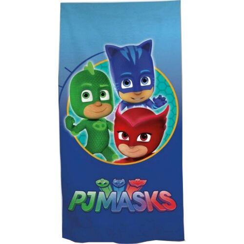 Disney PJ Masken Handtuch 70 x 140 cm blau