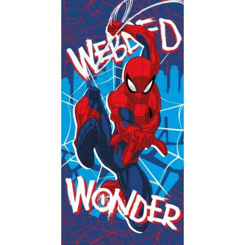 Marvel Badetuch Spider Man blau 70 x 140 cm