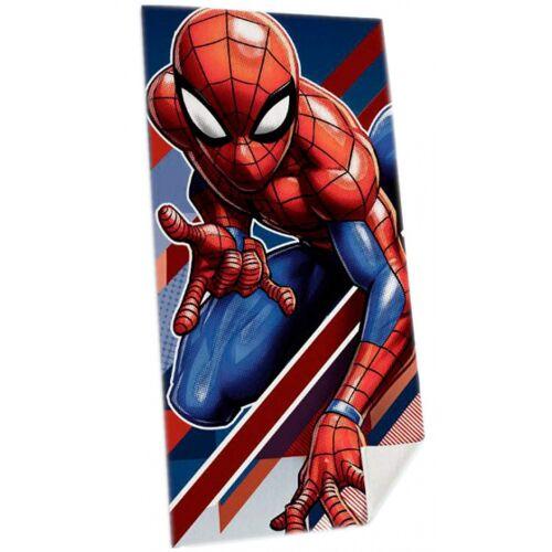 Marvel strandhandtuch Spider ManJungen 70 x 140 cm Baumwolle rot