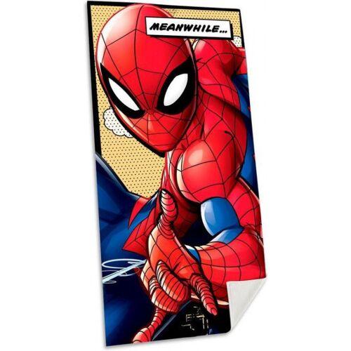 Marvel strandhandtuch Spider ManJungen Baumwolle 70 x 140 cm rot
