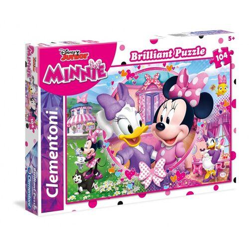 Clementoni puzzle Brillantes Puzzle Minnie 104 Teile