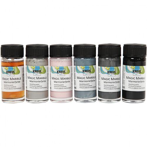 KREUL Magic Marble Pastellfarben 6x20 ml