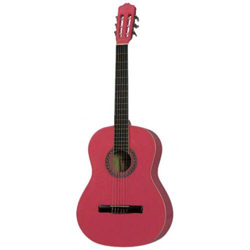 Gomez klassische Gitarre 0014/4 Modell Holz rosa