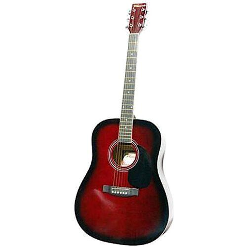 Phoenix gitarre Western 001 Dreadnought 105 cm rot