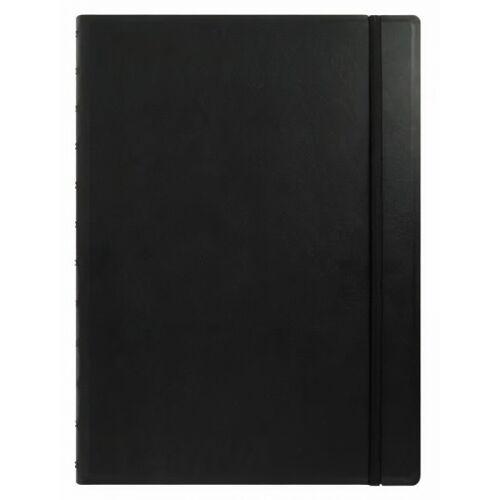 Filofax notizbuch A4 nachfüllbar 30,3 x 22,5 cm Papier schwarz