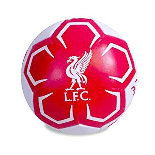 Liverpool ball Liverpool Soft PVC 10 cm rot/weiß