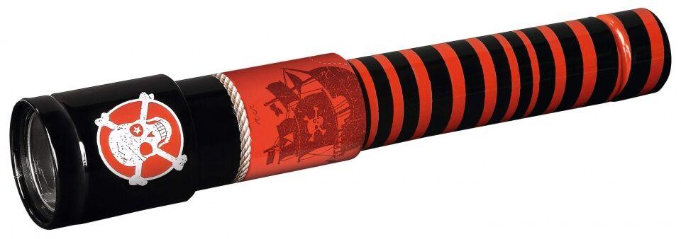 Moses telescope Piraatjunior 24,5 cm schwarz/rot