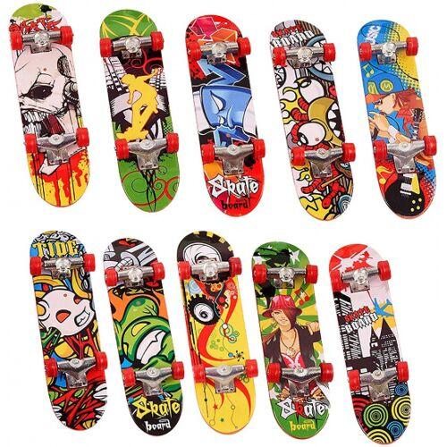 The Twiddlers finger Skateboard junior 9,5 x 2,5 cm 24 Stück