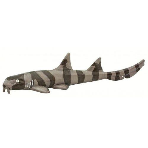 Safari figur Bambushai junior 13 x 4,5 x 3 cm braun