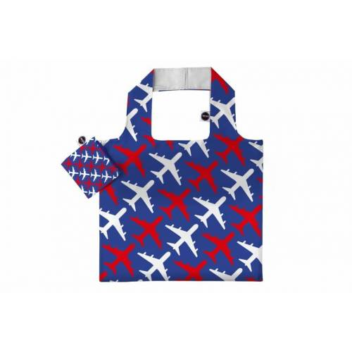 Any Bags klappbare shopper planes 48 cm blau