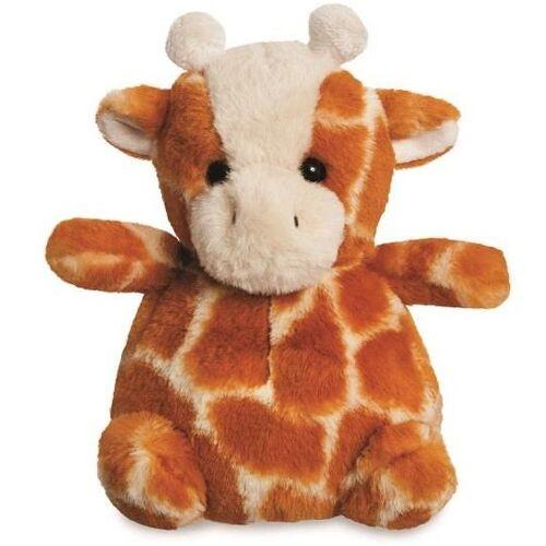 Aurora stofftier Cuddle Pals Giraffe 18 cm Plüsch braun