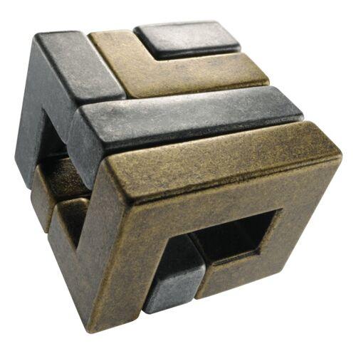 Huzzle Brain Teaser Cast Coil Silber / Gold