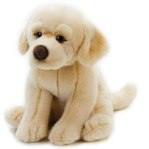 Lelly stofftier Hund Junior 25 cm Plüsch beige