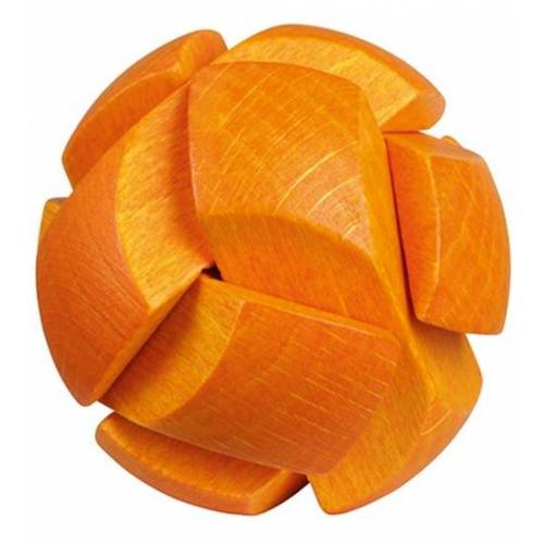 Moses Be clever! Sie Be clever! Smart Holz Puzzle Orange 6cm