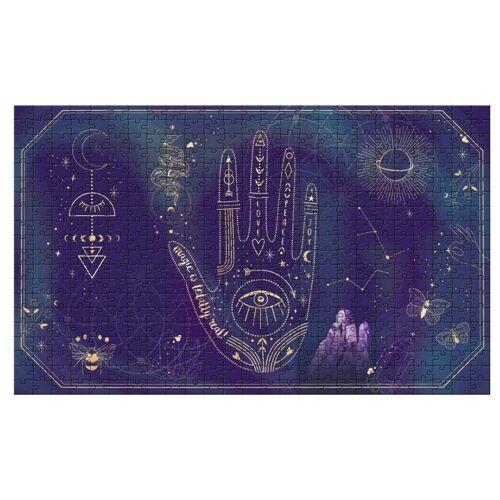 Moses puzzle Magic 28 x 46 cm karton blau 500 teilig