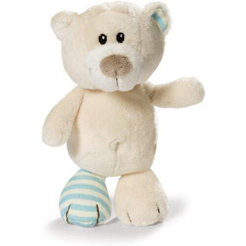 Nici stofftier Bear Taps 25 cm Plüsch weiß/blau