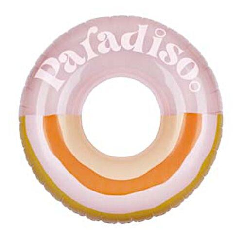 Sunnylife pool Paradiso 110 x 35 cm PVC rosa/orange