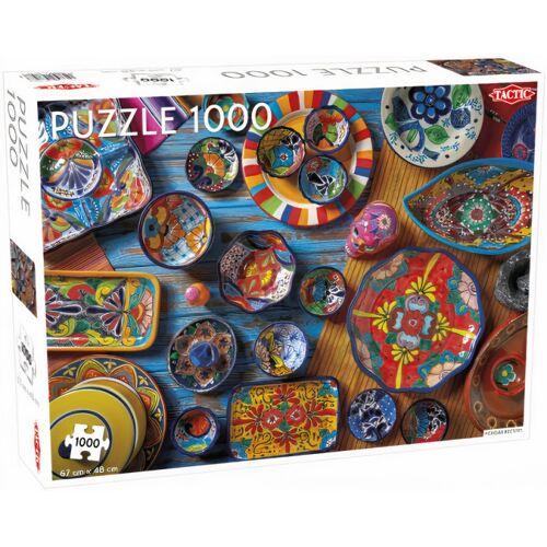 Tactic puzzle Mexikanisches Tafelgeschirr 48 x 67 cm Karton 1000 Teile
