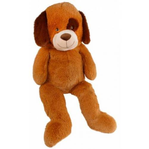 Take Me Home stofftier Hund Junior 59 x 95 cm Plüsch braun