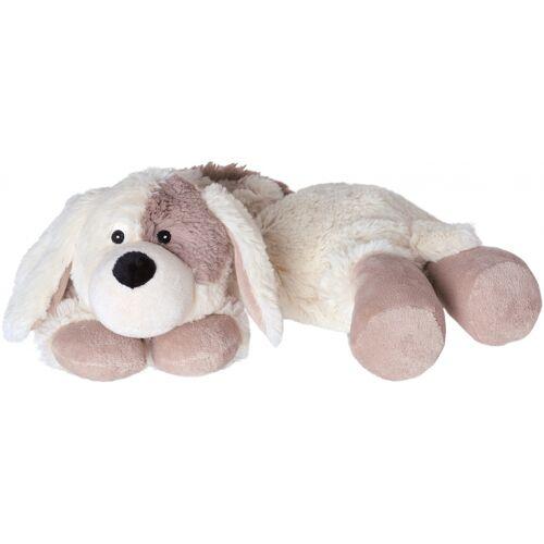 Warmies wärme kuscheliger Hund 50 cm weiß