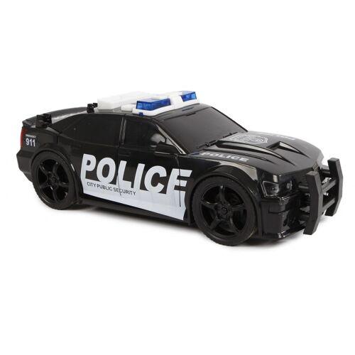 2-Play 2 Play polizeiauto mit Licht und Ton USA 18,5 cm schwarz
