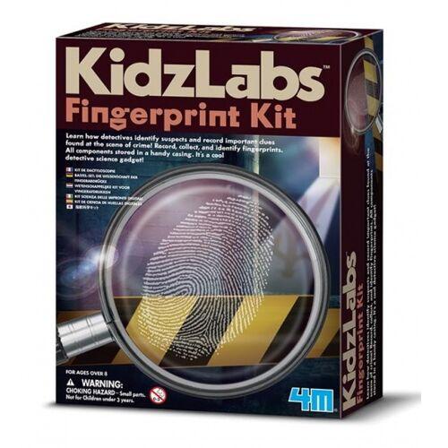 4M Kidzlabs: Spy Science / Fingerabdruck Set