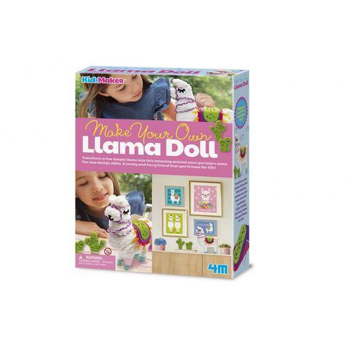 4M bastelset zur Herstellung Ihrer eigenen Lama Puppe