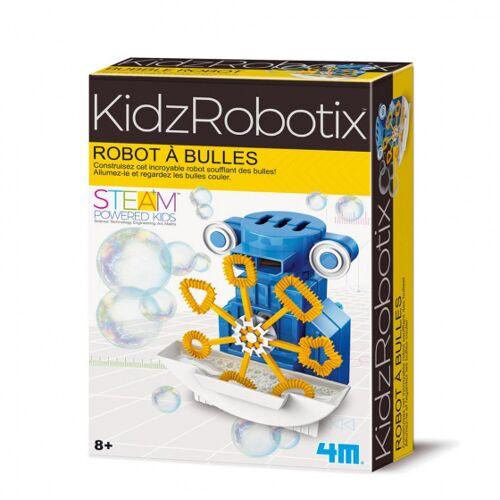 4M roboter Luftblasenbläser junior 10 cm blau/gelb 26 teilig