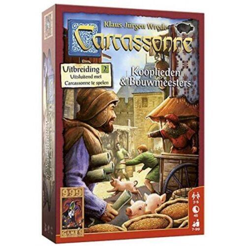 999 Games brettspiel Carcassonne: Händler & Bauherren