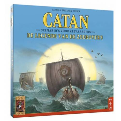 999 Games brettspiel Catan: Die Legende der Piraten