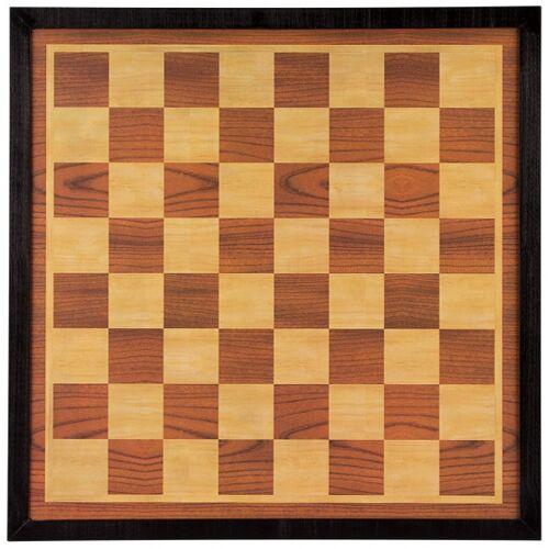 Abbey Game schach  und Schachbrett 49,5 cm Holz braun