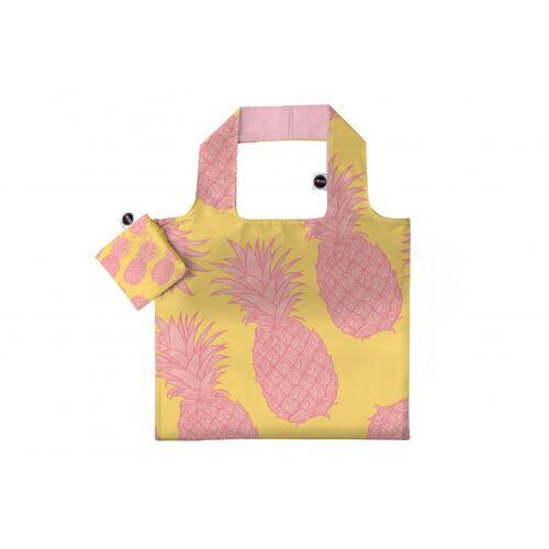 Any Bags faltbarer Shopper Ananas 48 cm gelb/rosa
