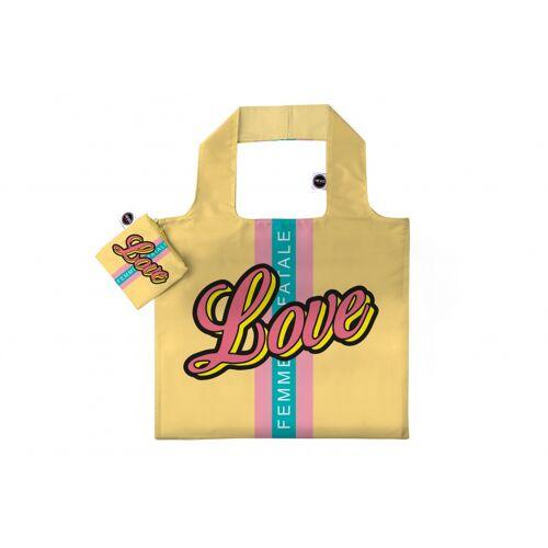 Any Bags faltbarer Shopper Love 48 cm gelb