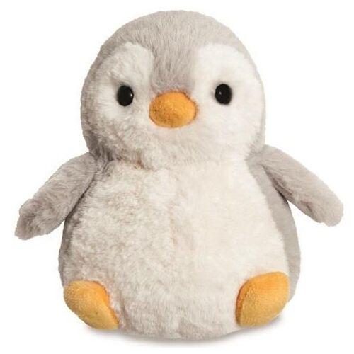 Aurora stofftier Cuddle Pals Pinguin 18 cm Plüsch grau/weiß